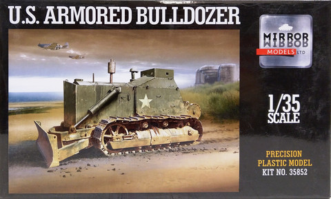 U.S. Armored Bulldozer, 1:35
