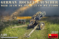 German Rocket Launcher with 28cm Wk.Spr & 32cm Wk.Flamm, 1:35