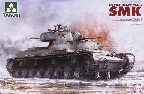 Soviet Heavy Tank SMK, 1:35 (pidemmällä toimitusajalla)
