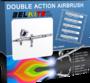 Double Action Airbrush Gravity Feed (pidemmällä toimitusajalla)