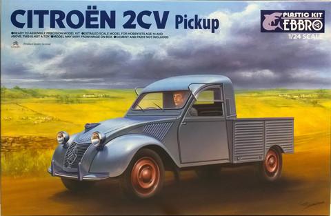 Citroën 2CV Pickup, 1:24 (pidemmällä toimitusajalla)