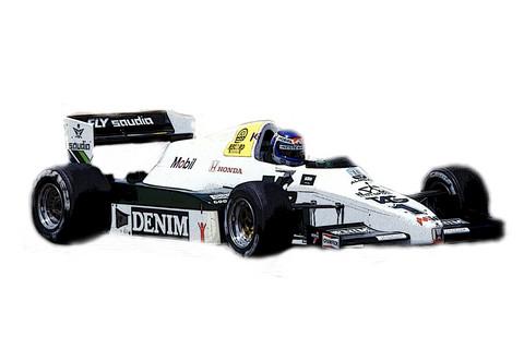 Williams Honda FW09 South African GP 1983, 1:43 (pidemmällä toimitusajalla)