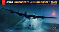 Avro Lancaster B Mk.III Dambuster, 1:32 (pidemmällä toimitusajalla)