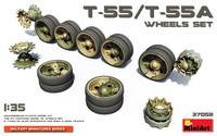 T-55 / T-55A Wheels Set, 1:35 (pidemmällä toimitusajalla)