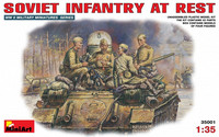 Soviet Infantry At Rest, 1:35