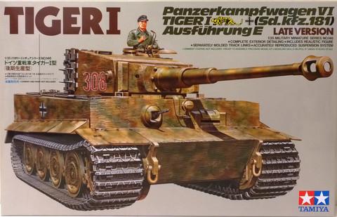 Tiger I (Sd.Kfz.181) Late Version 1:35 (pidemmällä toimitusajalla)