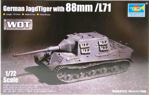 German Jagdtiger with 88mm/L71, 1:72 (pidemmällä toimitusajalla)