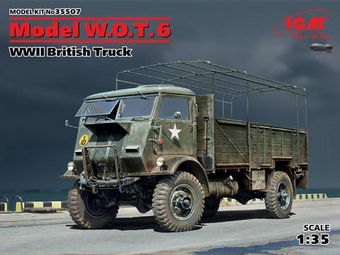 Model W.O.T.6 WWII British Truck, 1:35 (pidemmällä toimitusajalla)