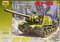 Soviet Tank Destroyer ISU-122, 1:35
