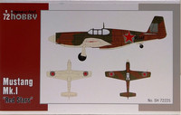 Mustang Mk.I Red Stars, 1:72