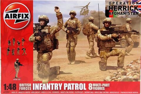 British Forces Infantry Patrol, 1:48