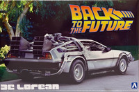 Back To The Future De Lorean, 1:24