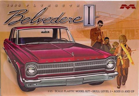 Plymouth Belvedere '65, 1:25 (pidemmällä toimitusajalla)