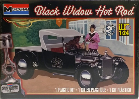 Ford Model T Black Widow Hot Rod, 1:24