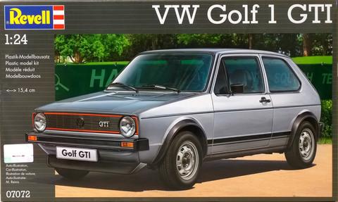VW Golf 1 GTI, 1:24 (pidemmällä toimitusajalla)