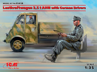 Lastkraftwagen 3,5t AHN with German Drivers, 1:35