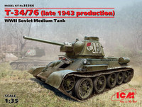T-34/76 (late 1943 production) 1:35