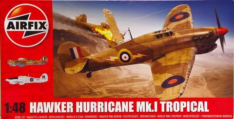 Hawker Hurricane Mk.I Tropical 1:48 (pidemmällä toimitusajalla)