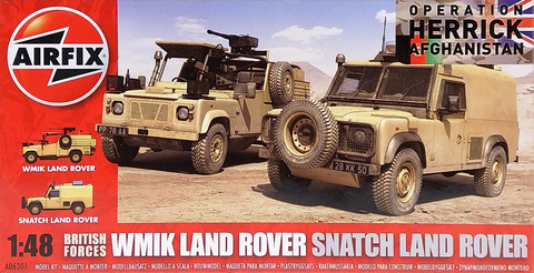 British Forces Land Rover, 1:48