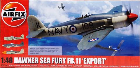Hawker Sea Fury FB.11 Export, 1:48 (pidemmällä toimitusajalla)