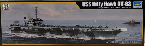 USS Kitty Hawk CV-63, 1:700