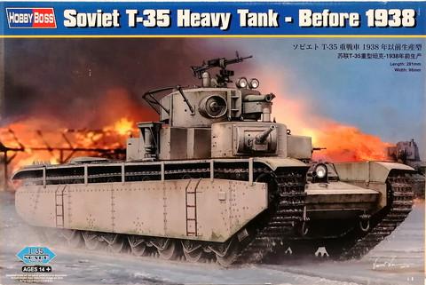 Soviet T-35 Heavy Tank (before 1938), 1:35 (pidemmällä toimitusajalla)