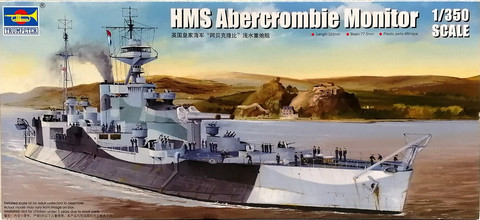 HMS Abercrombie Monitor, 1:350