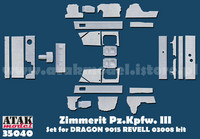Pz.Kpfw.III Version J,M,N for Dragon old kits, 1:35