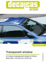 Transparent Window (4x lexan transparent sheets 0,12mm)