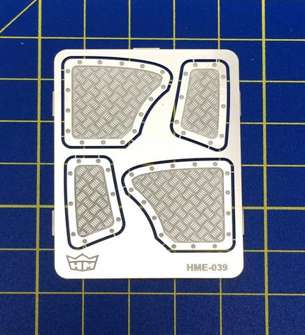 Aluminium Rear Panels, 1:25