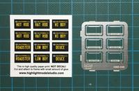License Plate Frames 4, 1:25