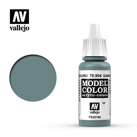 Dark Blue Pale, Model Color 17ml