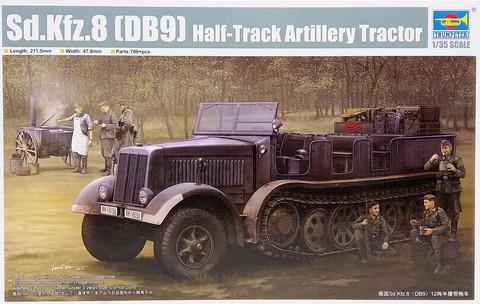 Sd.Kfz.8 (DB9) Half-Track Artillery Tractor, 1:35 (pidemmällä toimitusajalla)