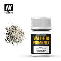 Titanium White, Vallejo Pigments 35ml