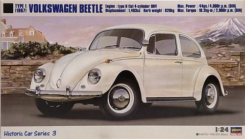 Volkswagen Beetle '67, 1:24 (pidemmällä toimitusajalla)