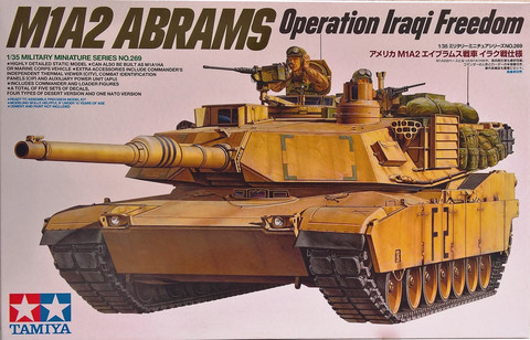 M1A2 Abrams Operation Iraqi Freedom, 1:35