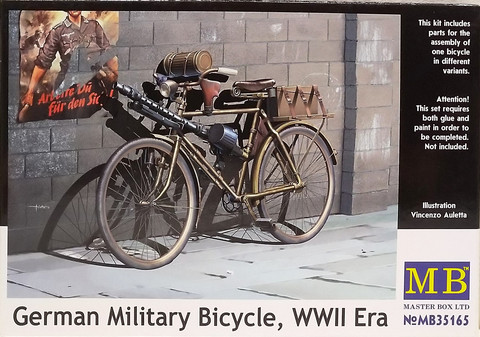 German Military Bicycle WWII, 1:35