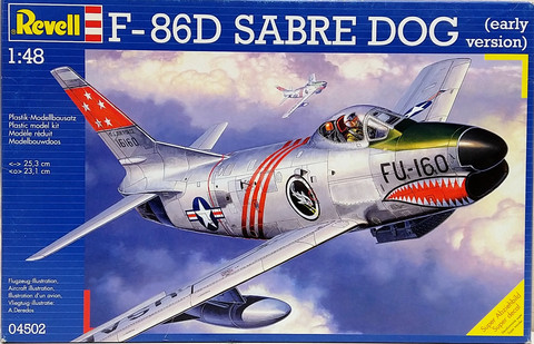 F-86D Sabre Dog (early version), 1:48