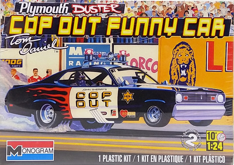 Plymouth Duster Cop Out Funny Car, 1:24