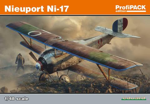 Nieuport Ni-17 ProfiPACK, 1:48 (pidemmällä toimitusajalla)