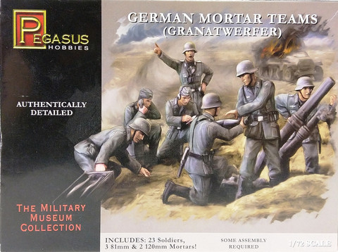 German Mortar Teams (Granatwerfen), 1:72