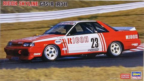 Nissan Skyline GTS-R R31 Ricoh, 1:24 (pidemmällä toimitusajalla)