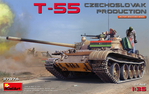T-55 Czechoslovak Production, 1:35