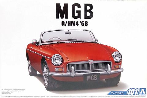 MGB Mk.2 '68, 1:24 (pidemmällä toimitusajalla)