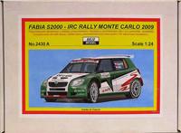 Skoda Fabia S2000 IRC Rally Monte Carlo 2009, 1:24