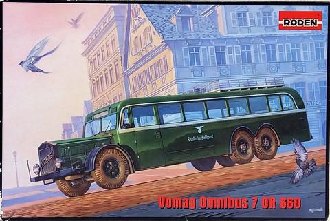 WWII German Staff Bus Vomag, 1:72 (pidemmällä toimitusajalla)