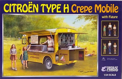 Citroën Type H Crepe Mobile with figures, 1:24 (pidemmällä toimitusajalla)