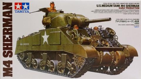 M4 Sherman (Early Production), 1:35 (pidemmällä toimitusajalla)