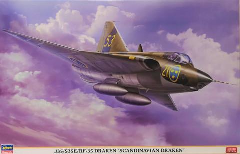 J35/S35E/RF35 Draken 'Scandinavian Draken', 1:48 (pidemmällä toimitusajalla)