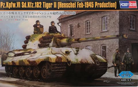 Pz. Kpfw. VI Sd. Kfz. 182 Tiger II (Henschel Feb-1945 Production), 1:35